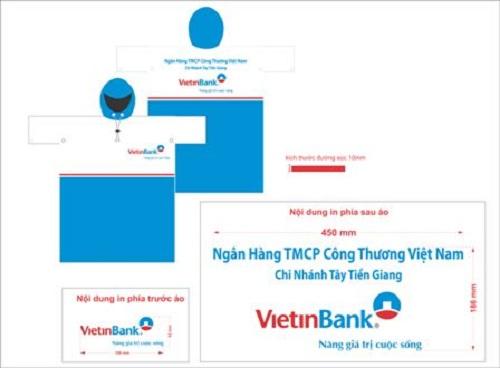 Áo mưa quà tặng - Vietinbank